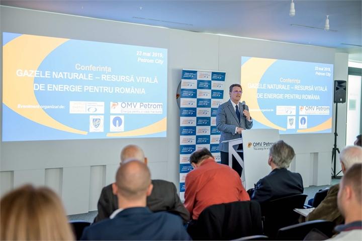 """Conferinţa """"GAZUL NATURAL – RESURSA VITALA DE ENERGIE PENTRU ROMANIA"""""""