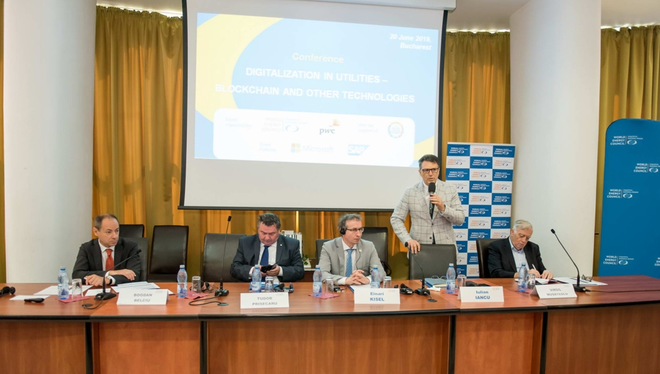 """CONFERENCE """"DIGITALIZATION OF UTILITIES : BLOCKCHAIN AND OTHER TECHNOLOGIES"""""""