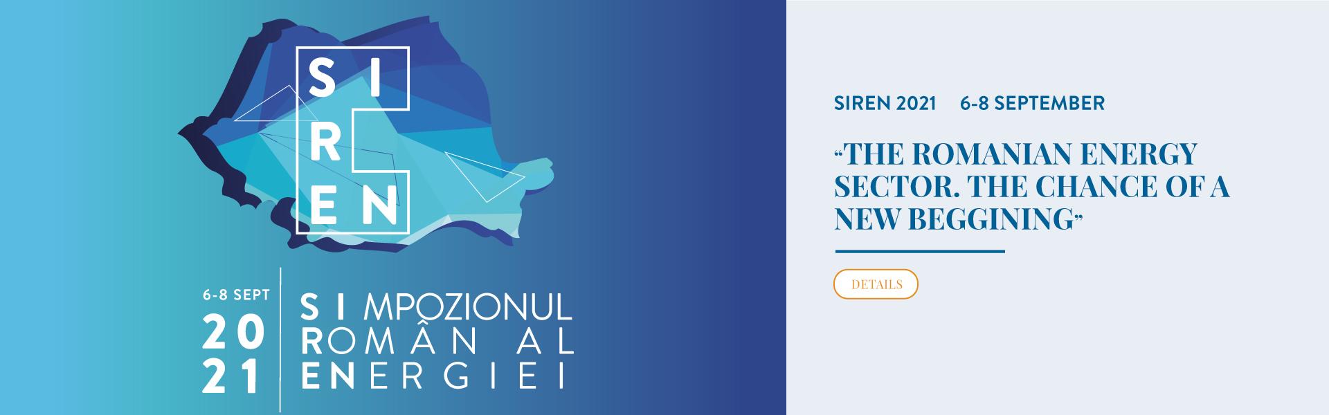SIREN - THE ROMANIAN ENERGY SYMPOSIUM 2021