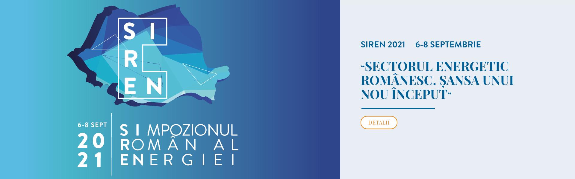 SIREN – SIMPOZIONUL ROMÂN AL ENERGIEI 2021